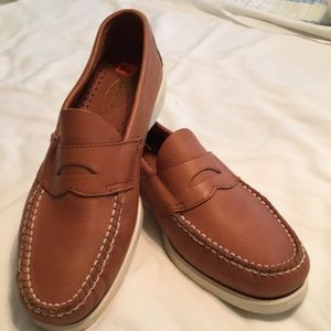EUC, Size 9.5 Brown Bass Leather Loafers